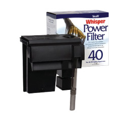 whisper 40 power filter